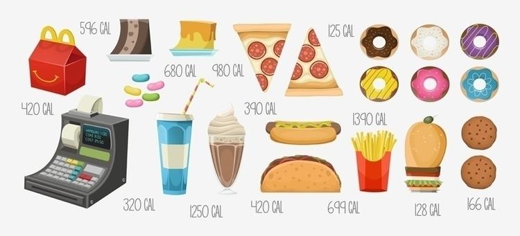 Food 01 - food, illustration - federicobonifacini | ello