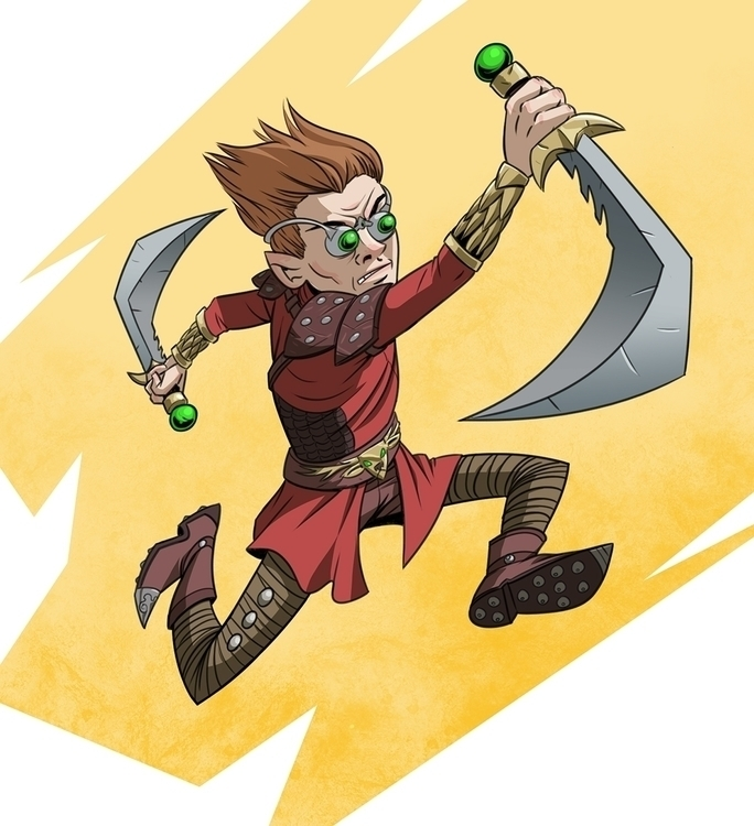 Halfling swords leaping murdero - robking21 | ello
