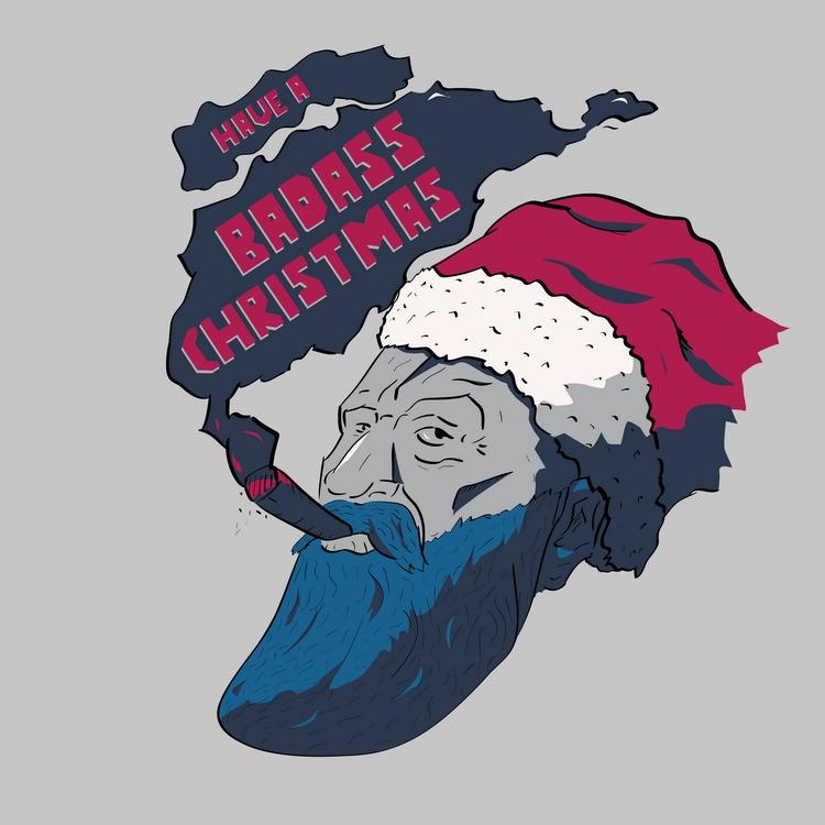 Badass Christmas - illustration - doncorgi-7551 | ello