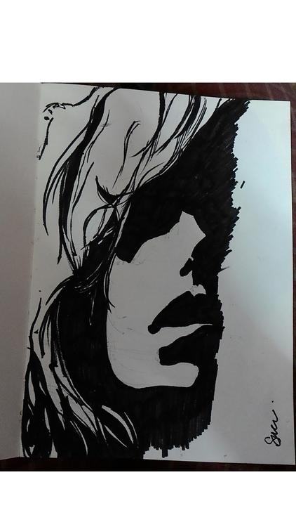 shadow - illustration, drawing - suraiyashahid | ello