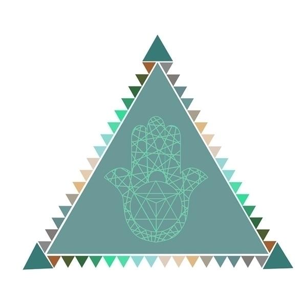Merkaba Triangle - triangle, merkaba - tigerwolf-8817 | ello