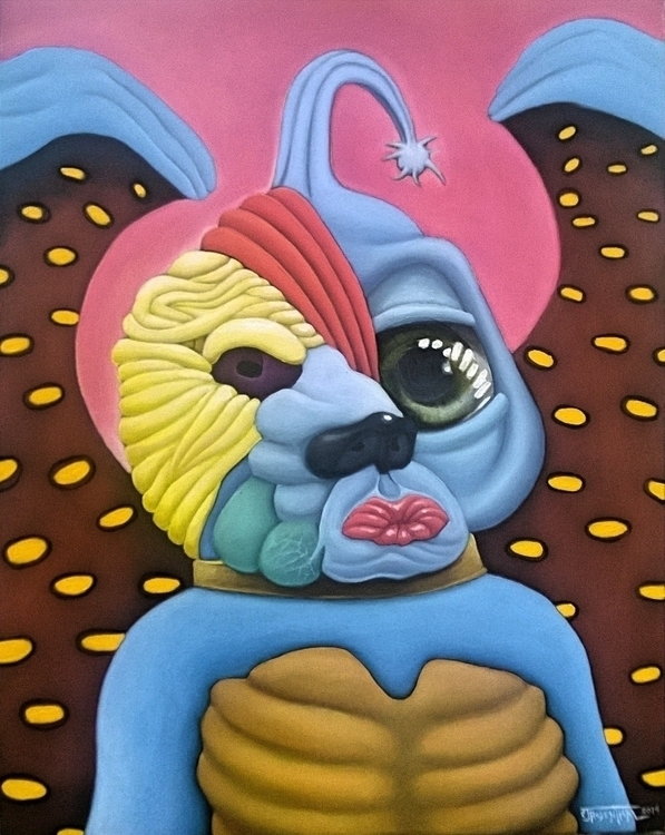 Uno Ojo - painting, illustration - cjrosenthal | ello