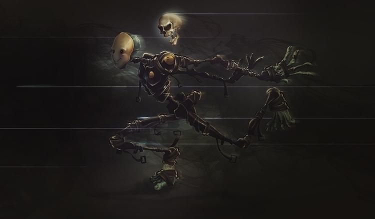 Death brings smile - characterdesign - charlievalderramanario | ello