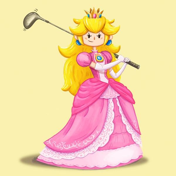 Peach - princesspeach, smashbros - dpsullivan | ello