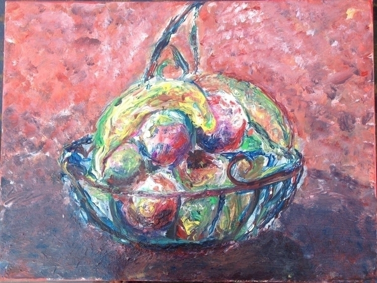 Fruit Painting, acrylic canvas - rabbott-8438   ello