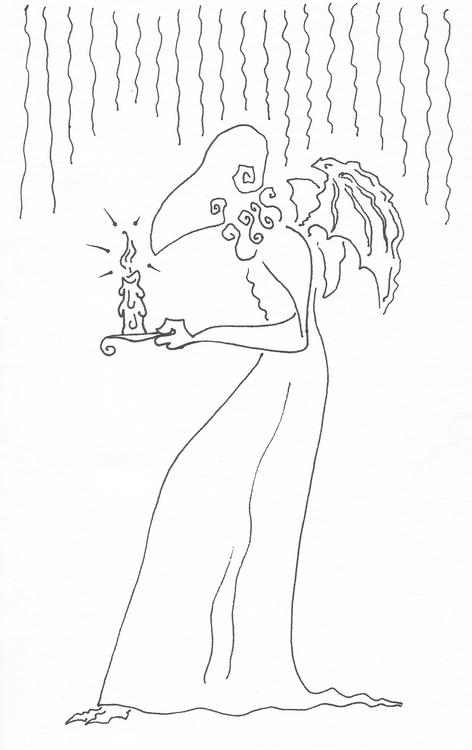 drawing, illustration, characterdesign - alphabetty-1363 | ello