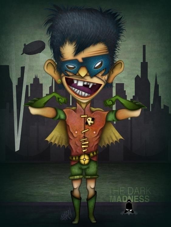 Robin - robin, dccomics, dc, eliran - eliran_bichman | ello