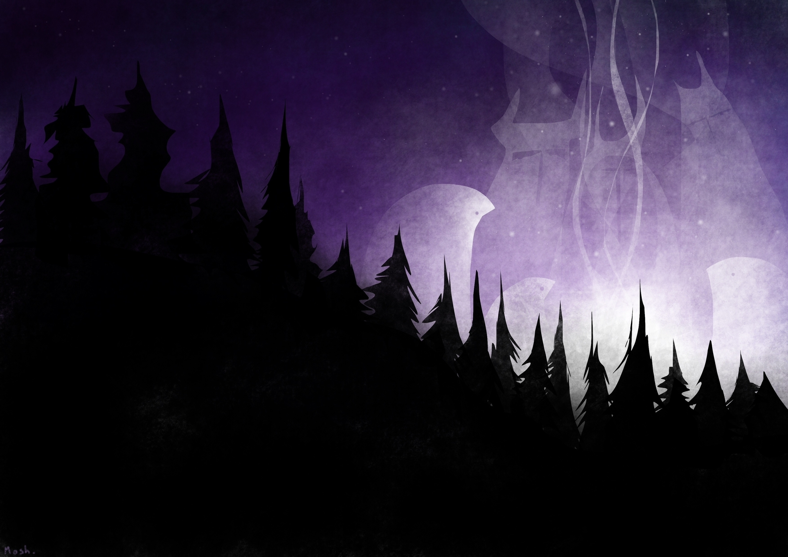 Witching Hour - illustration, characterdesign - mashaghajanyan | ello