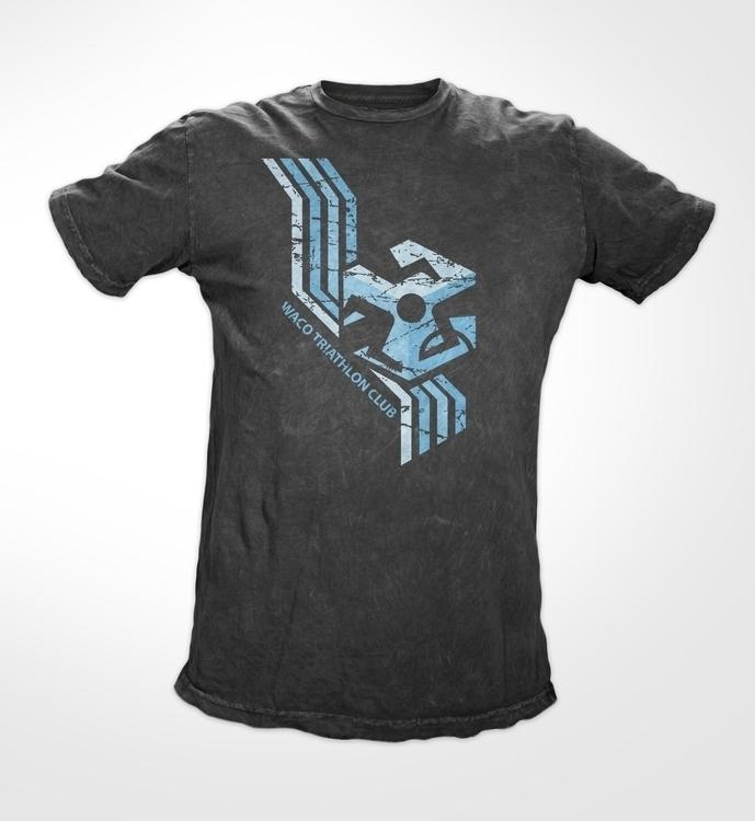 Waco Triathlon shirt design - illustration - uprisearts | ello