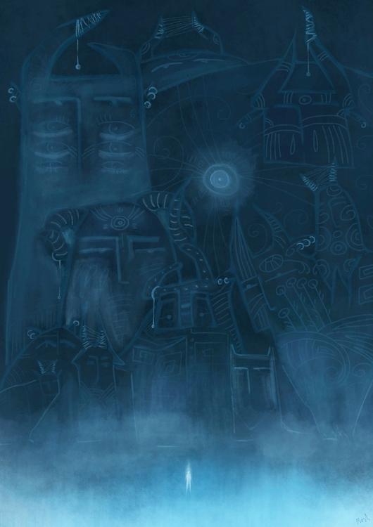 illustration, painting, characterdesign - mashaghajanyan | ello