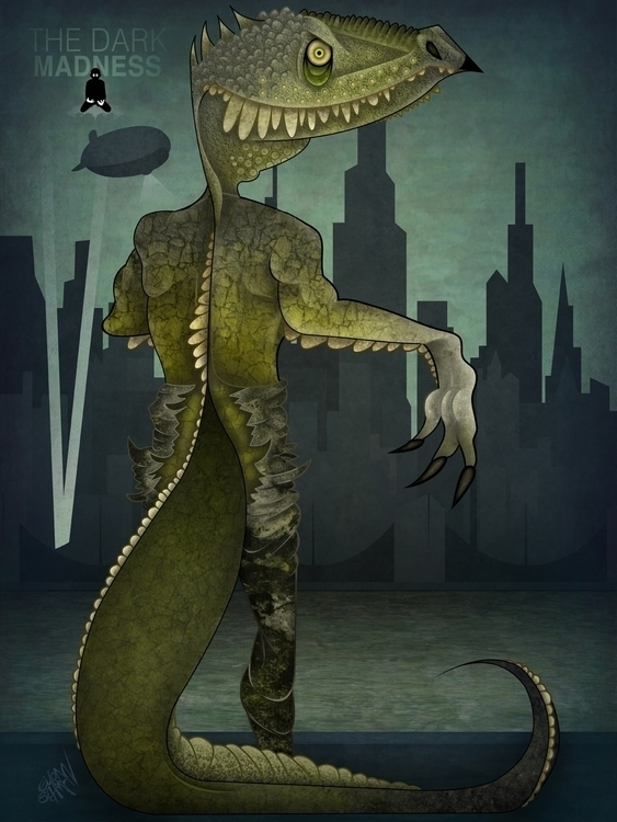 Killer Croc - KillerCroc, killer - eliran_bichman | ello