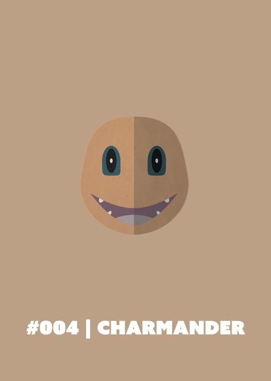 | Charmander - 004, illustration - benalex94 | ello