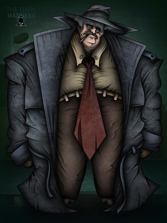 Detective Harvey Bullock - detectiveharveybullock - eliran_bichman | ello