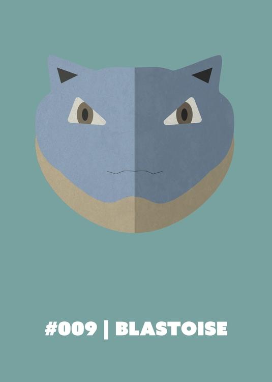 | Blastoise - 009, illustration - benalex94 | ello