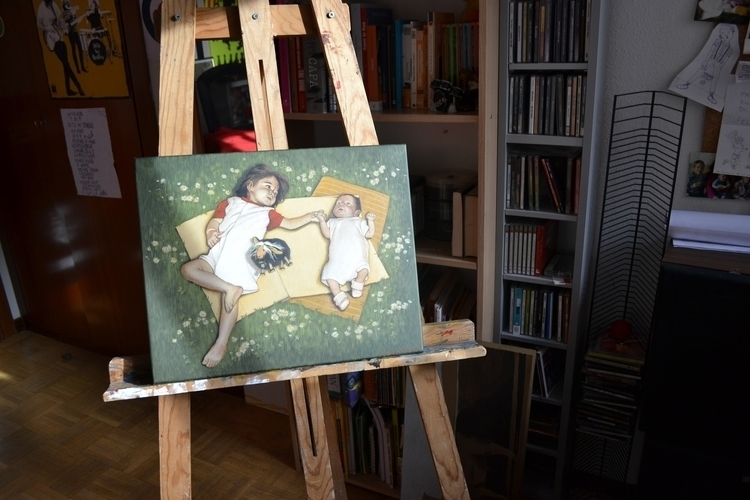 Children - painting - maryna-6139   ello
