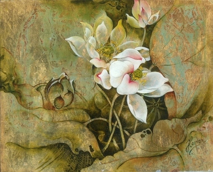 Hidden-original oil painting bo - annahannahart | ello