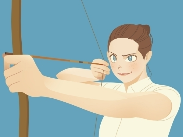 Summer Olympics - Bow Arrow - donghyun-1436 | ello
