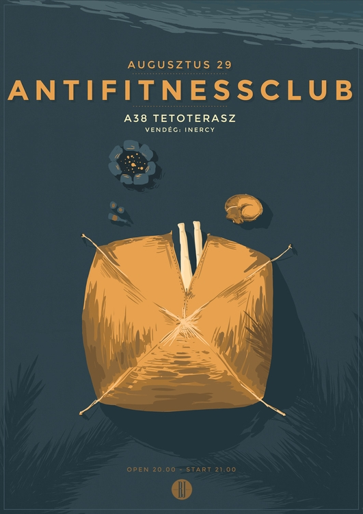 Anti Fitness Club II. | gig pos - brown-1009 | ello