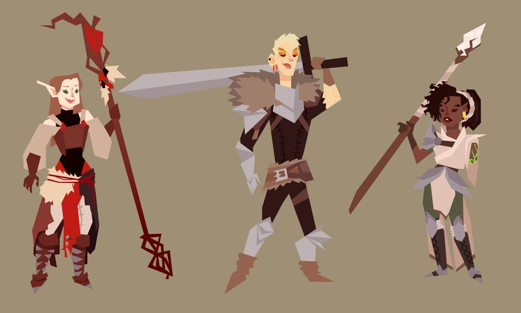 imagine characters Dragon Age O - dustyleaves | ello