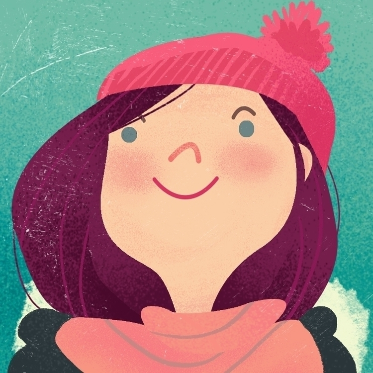 illustration, colours, winter - malgorzatadetner | ello