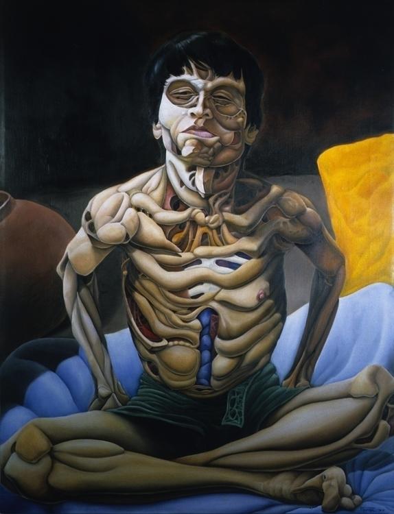 Boy 2 - painting, illustration - cjrosenthal | ello