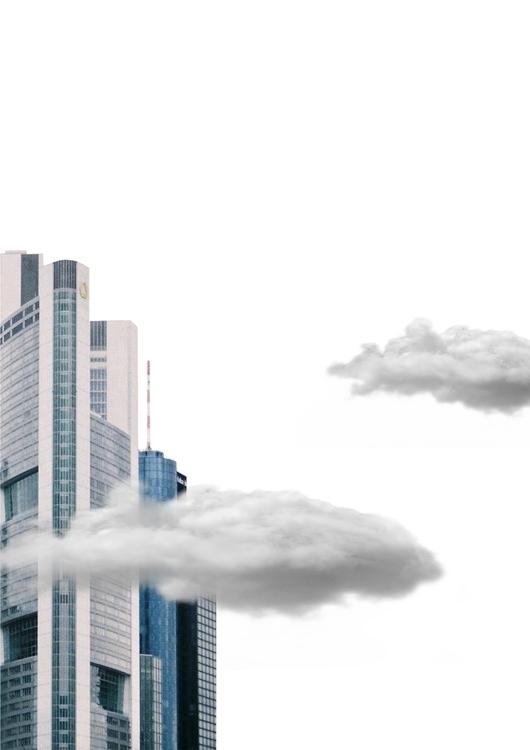 skyscraper, collage, beatrizalao - beatrizalao   ello
