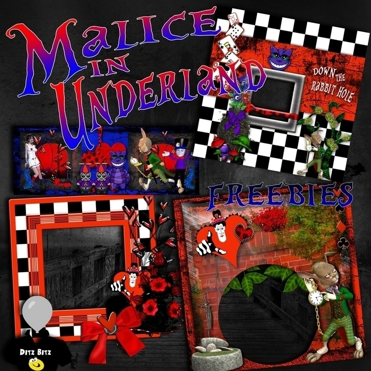 freebies kit, Malice Underland - ditzbitz | ello