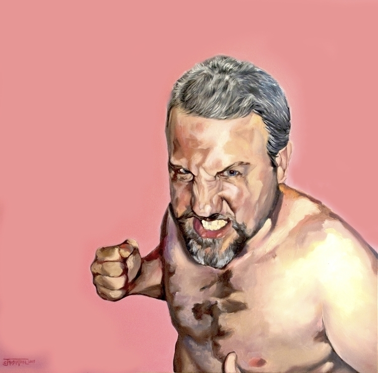 RAGE: Kevin - painting, illustration - cjrosenthal | ello
