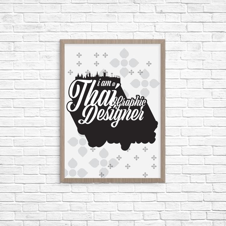 Thai Graphic Designer - nuttuesday | ello