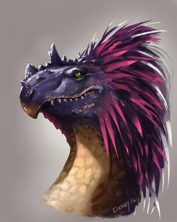 feathereddragon - dannykundzinsh | ello