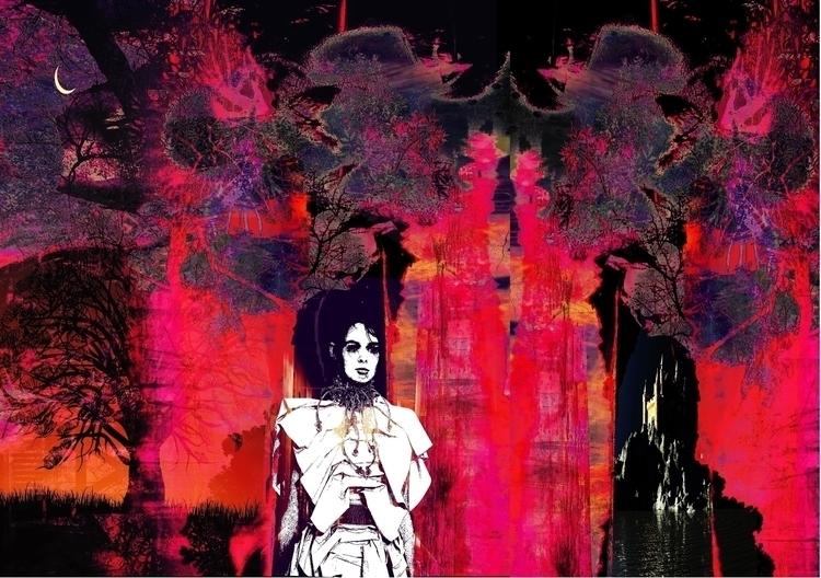 Arena - illustration, woman, conceptart - dizwhi | ello