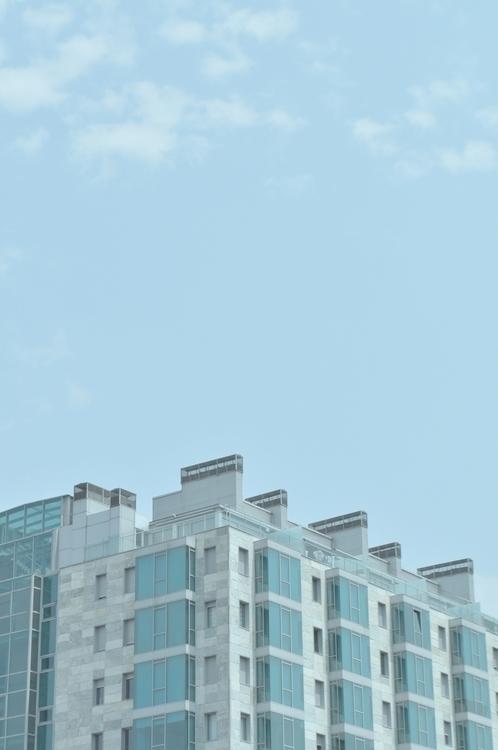 Blue - photography, architecture - jeyalonso | ello