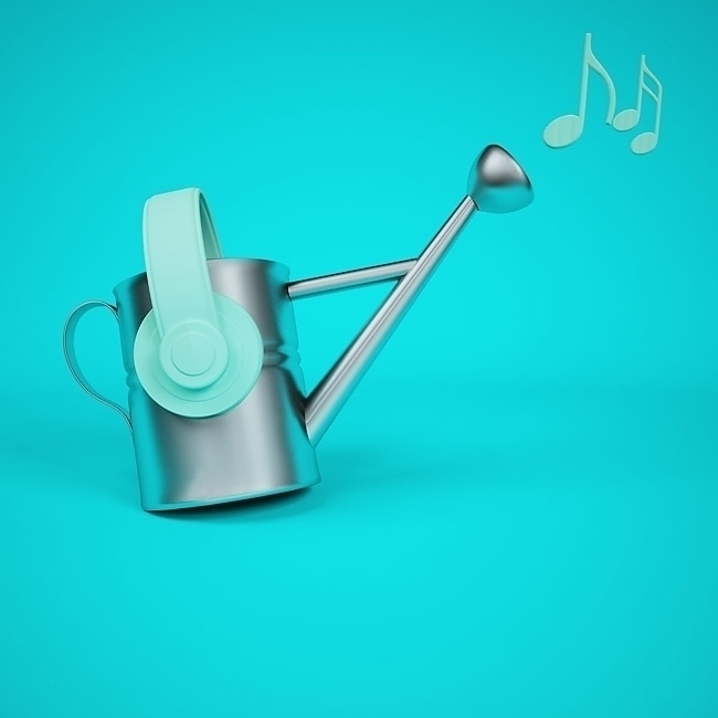 Norturing Music - illustration, 3d - deepflare | ello