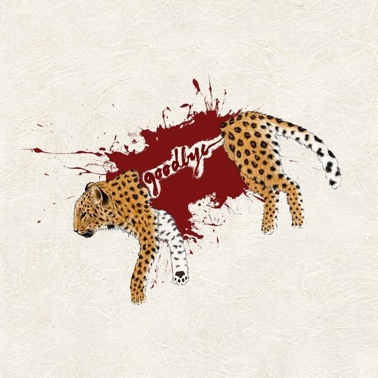 Regret - illustration, drawing, leopard - eunice-3818 | ello
