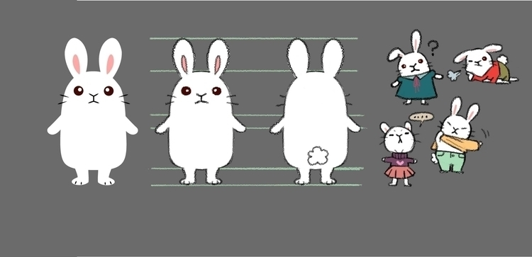 Bunny illustrator transition te - eunice-3818 | ello