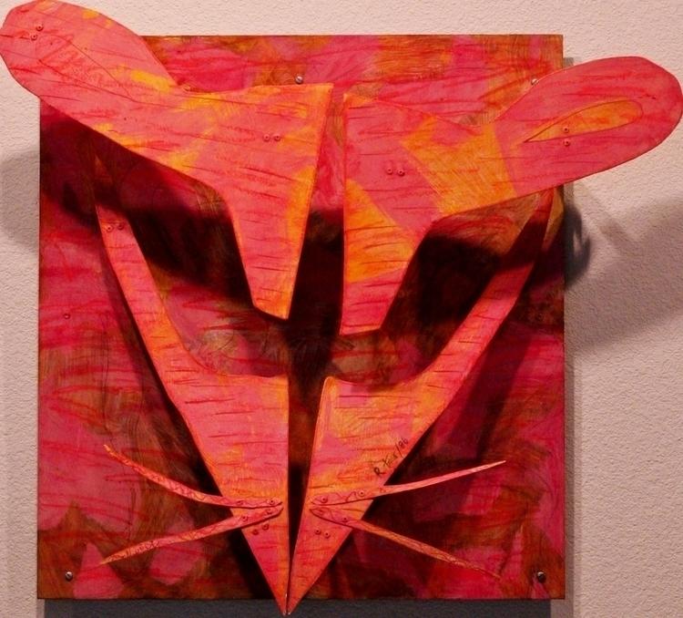 Metal Mask Series Oil 29x27x6 - 2 - richardrutner   ello