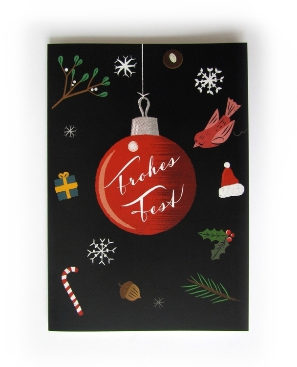 Merry Xmas. Greeting card - xmas - reconq | ello