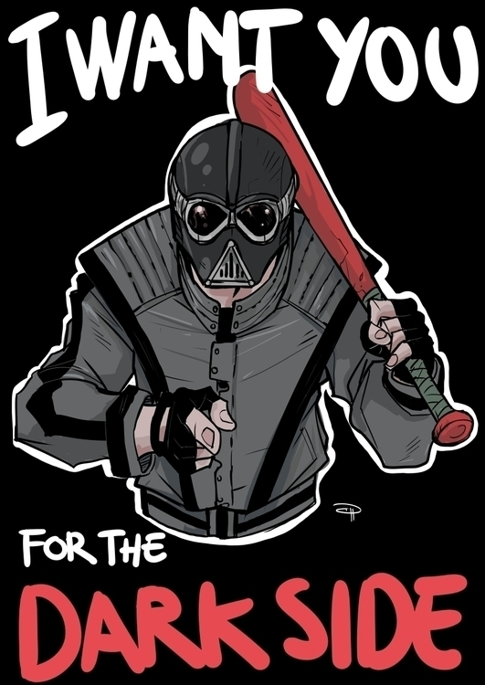 Star Wars High School - Vader - starwars - denismedri | ello