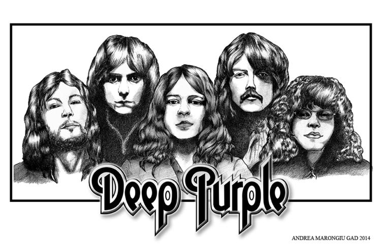 deeppurple, rockmusic, rockband - andream-8680 | ello
