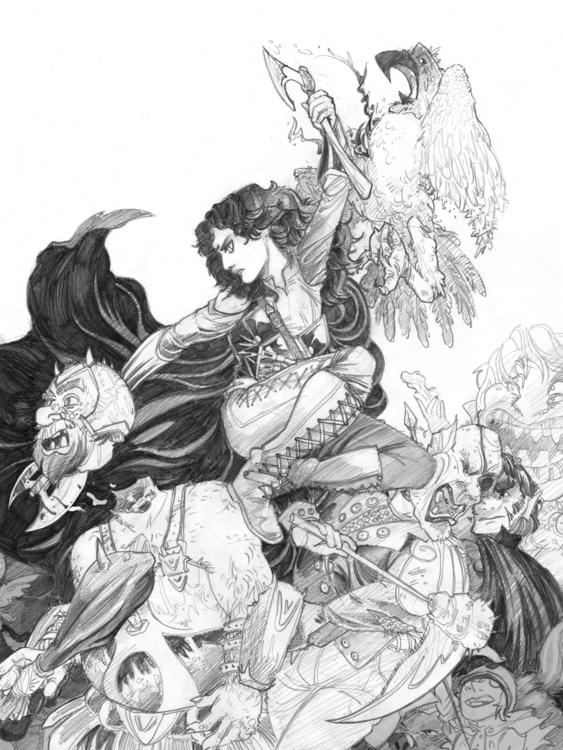 contest couple months - illustration - cobbillustrations | ello