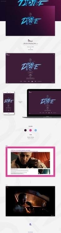 DRIVE Credits motion design :  - romainbdesign | ello