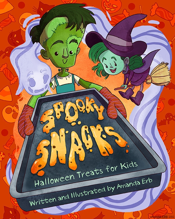 Spooky Snacks - mock recipe boo - amandaerb | ello