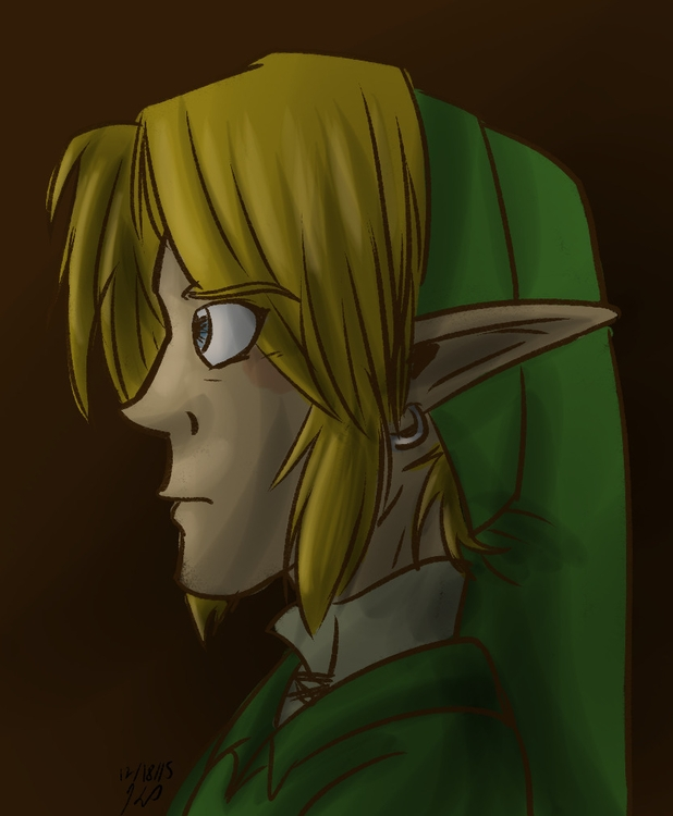 Hero Time - illustration, thelegendofzelda - kelsbugproductions | ello