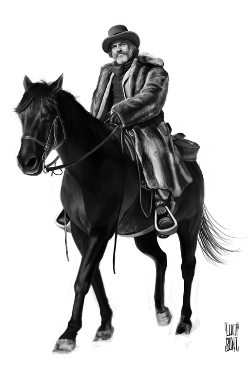 Study Django - Cowboys, tarantino - lucaboni | ello