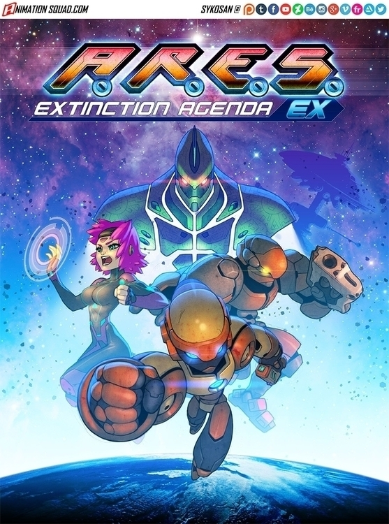 Cover art game Ares Extinction  - sykosan | ello
