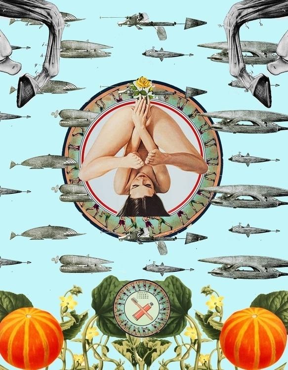 Space Odyssey - collage, juxtaposition - akashnandi93   ello