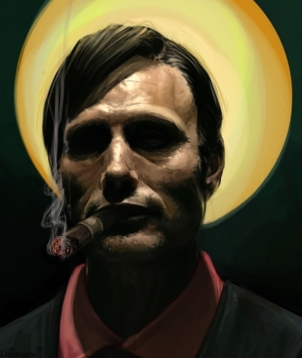 Hannibal - NBC Mafia boss Hanni - celestialartistry   ello