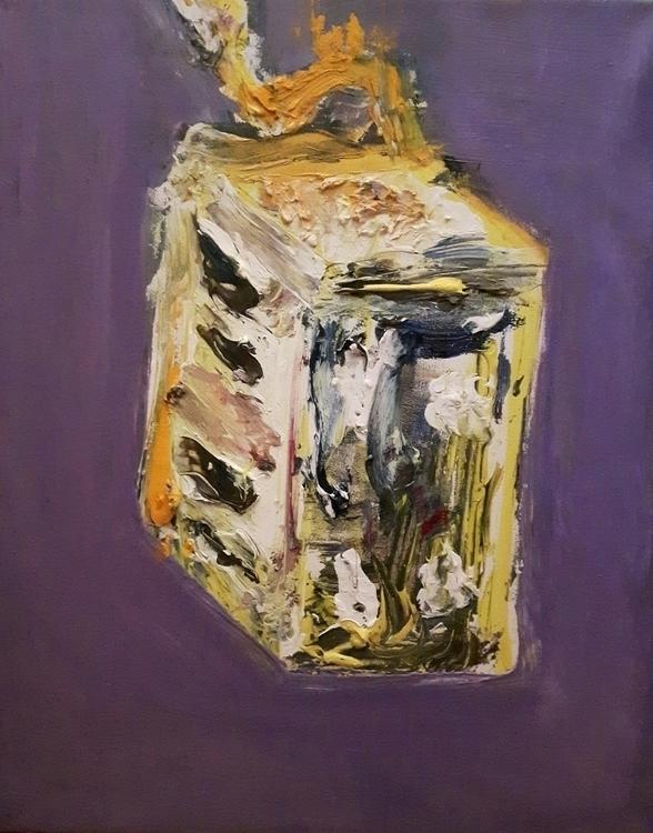 Toaster, Acrylic oil canvas, 20 - rabbott-8438   ello