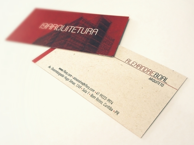 Architecture business card - businesscard - caiooliveira-1135 | ello