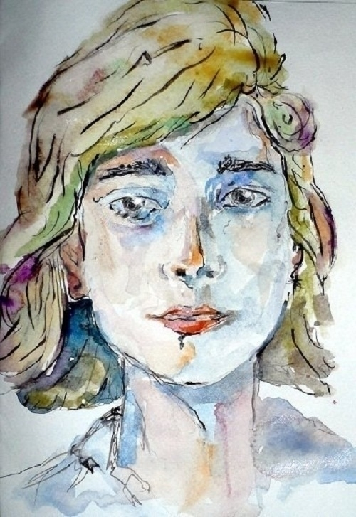 painting, watercolor, water, portrait - randa-6383 | ello